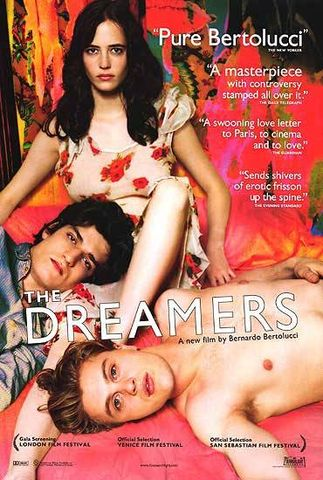 """The Dreamers movie"" by Source. Licensed under Fair use via Wikipedia - https://en.wikipedia.org/wiki/File:The_Dreamers_movie.jpg#/media/File:The_Dreamers_movie.jpg"