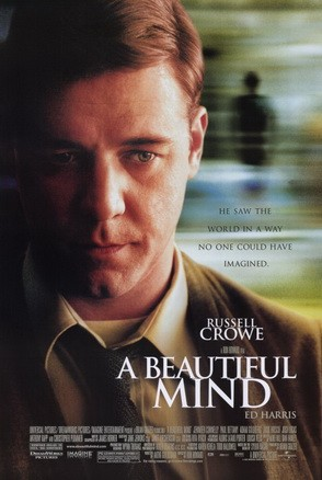 """""""A Beautiful Mind Poster"""" by Source. Licensed under Fair use via Wikipedia - https://en.wikipedia.org/wiki/File:A_Beautiful_Mind_Poster.jpg#/media/File:A_Beautiful_Mind_Poster.jpg"""