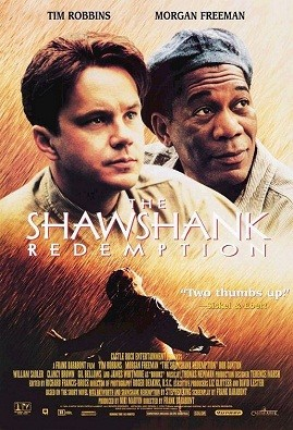 """ShawshankRedemptionMoviePoster"" by Source. Licensed under Fair use via Wikipedia - https://en.wikipedia.org/wiki/File:ShawshankRedemptionMoviePoster.jpg#/media/File:ShawshankRedemptionMoviePoster.jpg"